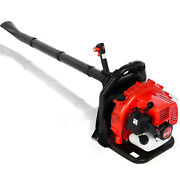 2-stroke 63cc High Performance Gas Powered Back Pack Leaf Blower Professional