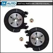 Complete Wheel Hub Bearing And Steering Knuckle Assembly Pair For Ford Mercury Suv