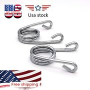 Chrome 2 V-type Scissor Solo Seat Springs Fit For Harley Xl1200 883 Motorcycle