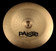 It Is Now Out Of Print But It Is A 20inch China Of The Paiste Series. There A