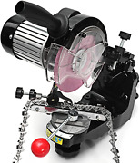 Chainsaw Sharpener, Professional Electric Multi-angles Automatic Saw Chain Blade
