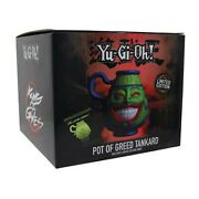 Yu-gi-oh - Pot Of Greed Tankard - Preorder - Limited Edition Only 9999 Pieces