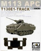 Afv Club 35s22 1/35 America M113 Series T130e1 Connecting Movable Track