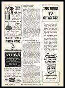 1937 Binks Chicago Thor Model 7 Paint Spray Gun And Handy No.5 Touch-up Print Ad