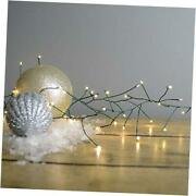Branch Garland Light String 100 Clear Lights Micro Bulb Electric
