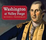 Washington At Valley Forge Paperback By Freedman Russell Like New Used Fr...