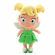 Tinker Bell Fairy Peter Pan 12 Toddler Plush Toy Doll 2015 Disney Store Nwt