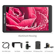 Feelworld 5.7 Inch On Camera Monitor 4k Hdmi Small Full Hd Lcd For Dslr Video