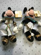 Egyptian Costumes Limited Tagged Mickey Minnie Beans Doll Usa Disney Store 22