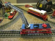 K Line / Lionel Fdny Nyc Fire Department Firefighter Water Tank Car With Ladder