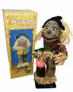 Vintage Harvey The Animated Singing Scarecrow Motion Activated With Box