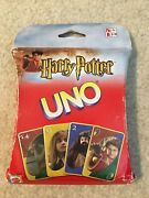 Vintage Harry Potter Uno Card Game 110 Exclusive Cards 2002 New Sealed