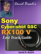 David Busch's Sony Cyber-shot Dsc-rx100 V Fast Track Guide, Like New Used, Fr...