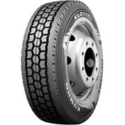 4 Tires Kumho Kld11e 295/75r22.5 Load G 14 Ply Drive Commercial