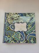 New Vera Bradley Retired Rhythm And Blues Deluxe Photo Book