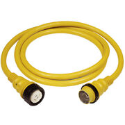 Marinco 50amp 125/250v Shore Power Cable 25and039 Yellow