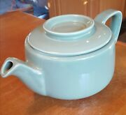 Vintage Hall China 1940and039s Green Tricolator Coffee Or Teapot No Chips/cracks