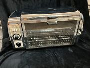 Vintage Kenmore Oven Baker Automatic Rotisserie Rare 1950andrsquos Retro Kitchen Works