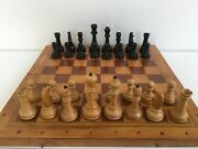Soviet Chess Wood Vintage Old Chess Ussr