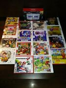 New Nintendo 3ds Xl Snes Edition With 16 Games And Charger