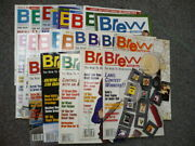 Brew Your Own How-to Homebrew Beer Magazine - Lot Of 22 Magazines