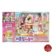 Little Mimi Two-story Doll House Toy Role Play Fashion Doll Girl's Gift