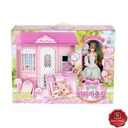 Mimi World Two-story Mimi Doll House Toy Role Play Fashion Doll Girl's Gift