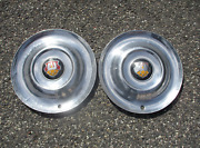 Factory 1953 Oldsmobile Super 88 98 15 Inch Hubcaps Wheel Covers Beaters
