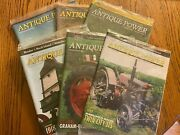 6 Vintage Antique Power Tractor Collector Magazines Complete Year 2009 W Sleeve