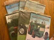 6 Vintage Antique Power Tractor Collector Magazines Complete Year 2008 W Sleeve