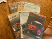 6 Vintage Antique Power Tractor Collector Magazines Complete Year 2006 W Sleeve