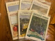 6 Vintage Antique Power Tractor Collector Magazines Complete Year 2004 W Sleeve