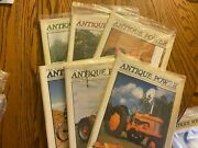 6 Vintage Antique Power Tractor Collector Magazines Complete Year 2001 W Sleeve