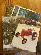 6 Vintage Antique Power Tractor Collector Magazines 1996 Complete Year W Sleeves