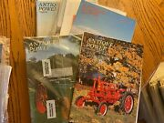 6 Vintage Antique Power Tractor Collector Magazines 1995 Complete Year W Sleeves