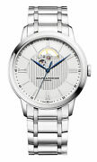 Baume And Mercier Classima Stainless Steel Automatic Silver Mens Watch M0a10525
