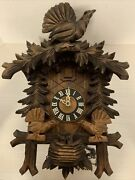 Vintage Cuckoo Clock/ Made In West Germany missing Weights And Pendulum