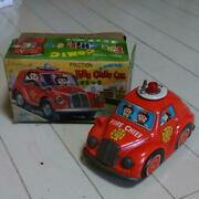 Tin Toys Diecast Car Made In Japan Comic Fire Truck Okayas Beetle Style