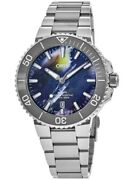 New Oris Aquis Date Upcycle Special Edition Menand039s Watch 01 733 7766 4150-set