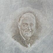 American Bank Note Company United States Printing Plate Franklin Roosevelt