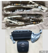 2012 2013 Toyota 4runner Roof Curtain Airbag Driver Knee And Wheel Airbag