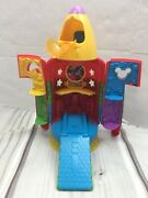 Mickey Mouse Clubhouse Rocket Blast Off Toy Ship Light Up Sounds Disney Playset