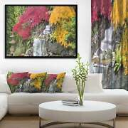 Designart 'japanese Maple Trees' Floral Photography Framed Small