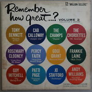 Remember How Great... Volume 2 Vinyl Lp Columbia Records Vg Cond 27