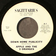 Apple And The 3 Oranges Down Home Publicity / True Love Will Never Die 7 Single