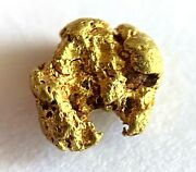 Yellow Gold Natural Nugget 85.53 Au Purity As Per Xrf Spectrometer Test 0.93gr