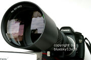 Telephoto Lens 500 1000mm For Four Thirds Ft Olympus Panasonic Leica New