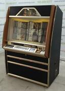 Rowe Ami Cd100-a Brown Jukebox- Includes 100 Cds And Bluetooth Audio