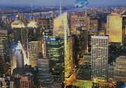 Midtown Manhattan Ravensburger Jigsaw Puzzle 1500 Pc Multi Color Made In Germany