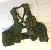 Molle Ii Tactical Tailor Load Carrier Belt Specialty Defense Usa W/a+pos Patch